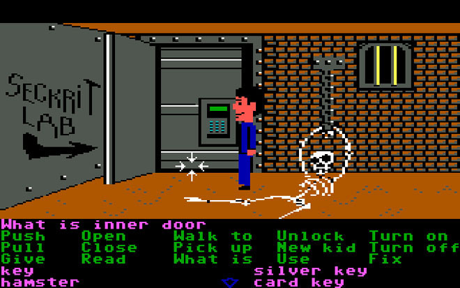 Les Survival Horror, ces jeux qui vous donnent des sueurs froides - Page 2 Maniac-mansion-dungeon1