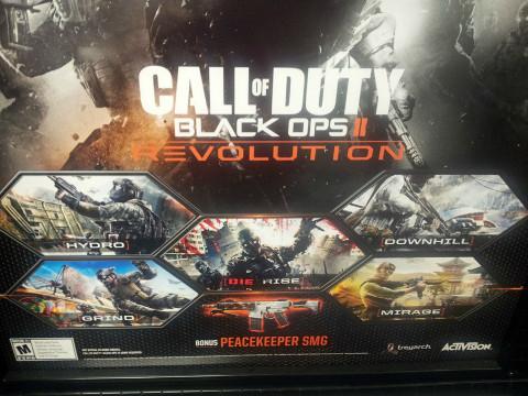 COD: Black Ops II DLC Leak