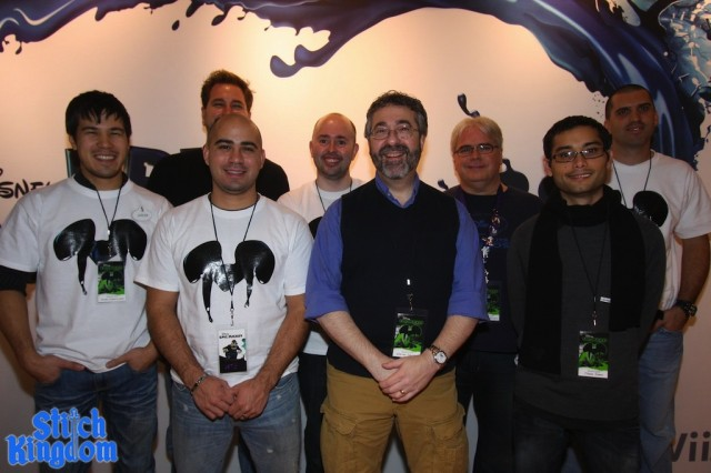 Some of the original Disney Epic Mickey team.