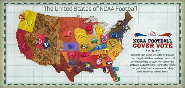 NCAA Football Cover Vote