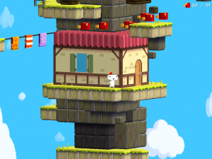 Polytron's 2012 game Fez was developed in XNA