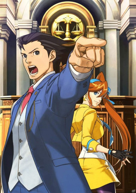 Ace Attorney 5 - Phoenix and Athena