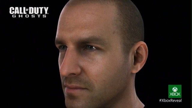 Call of Duty Ghosts- Facial Render