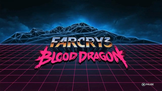 Far Cry 3- Blood Dragon - Title Screen