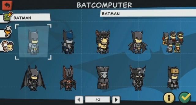 Scribblenauts Unmasked - Batman variations