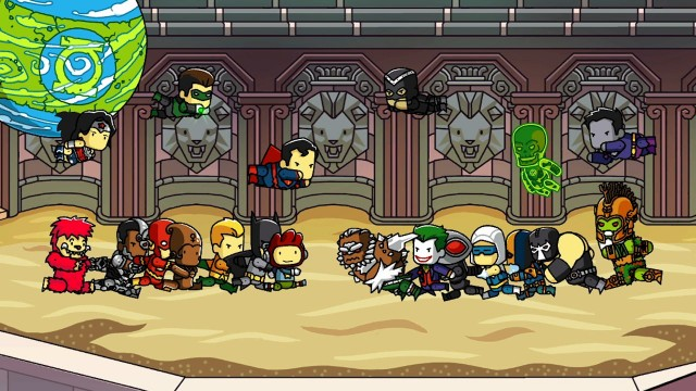 Scribblenauts Unmasked - Heroes and Villains