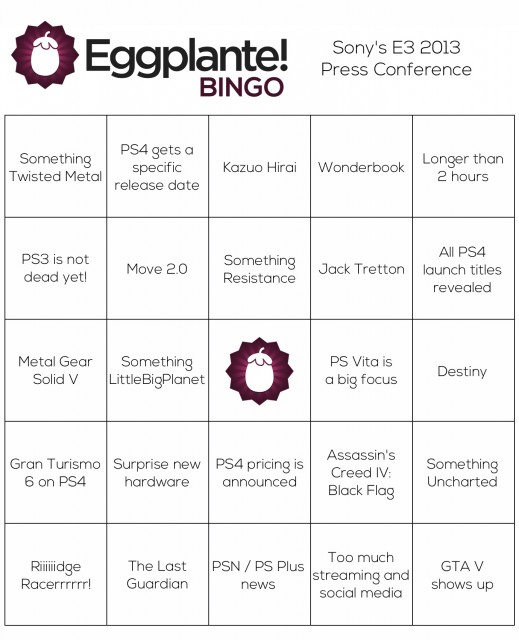 BingoSonyE3