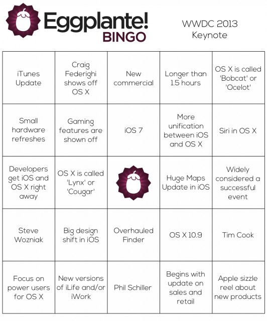 BingoWWDC2013