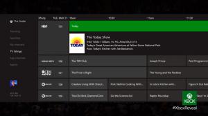Xbox One - TV Listings