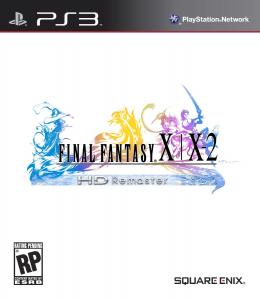 FFX-FFX2 HD Remaster - Box Art
