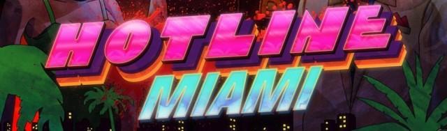Hotline Miami - Title Art