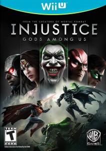 Injustice- Gods Among Us - Wii U Box Art