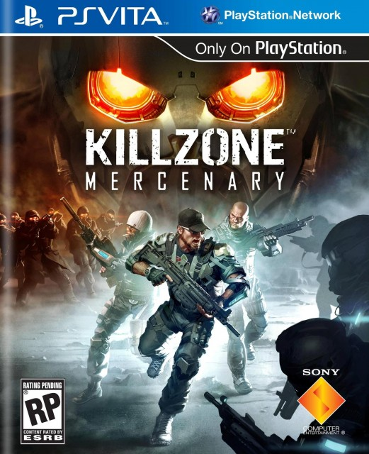 Killzone- Mercenary - Box Art