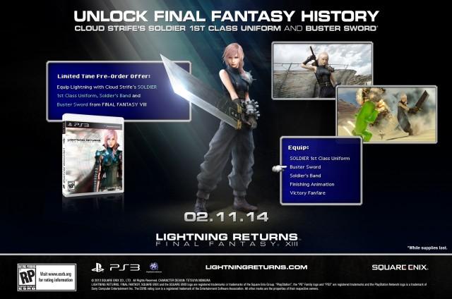 Lightning Returns- Final Fantasy XIII - Preorder Art