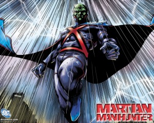 Martian Manhunter - Character Art