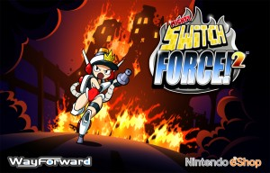 Mighty Switch Force 2 - Title Art