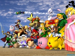 Super Smash Bros. Melee - Promo Art
