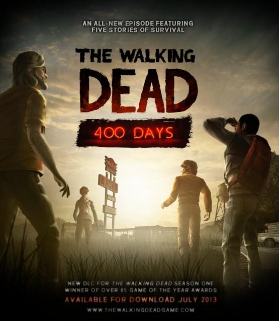 The Walking Dead - 400 Days - Title Art
