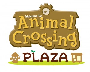 Animal Crossing Plaza Logo