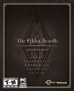 Elder Scrolls Anthology - Box Art
