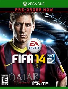 FIFA 14 - Xbox One Box Art