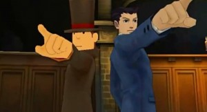 Phoenix Wright vs. Professor Layton - Gameplay 1