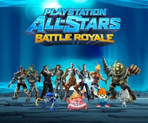 PlayStation All-Stars Battle Royale - Promo Art