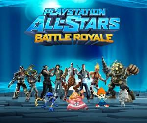 PlayStation All-Stars Battle Royale - Promo Art
