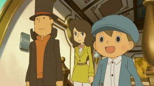 Professor Layton and the Azran Legacy - Cutscene 1