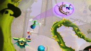 Rayman Legends - Mario and Luigi Costume Gameplay