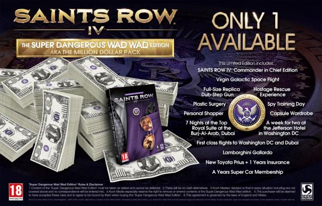 Saints Row IV - Million Dollar Package