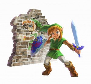 The Legend of Zelda- A Link Between Worlds - Promo Art