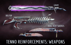 Warframe - Tenno Weapons