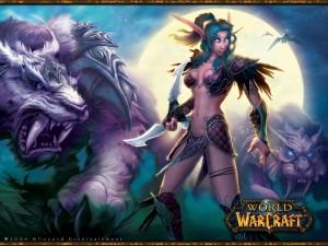 World of Warcraft - Dark Elf Art