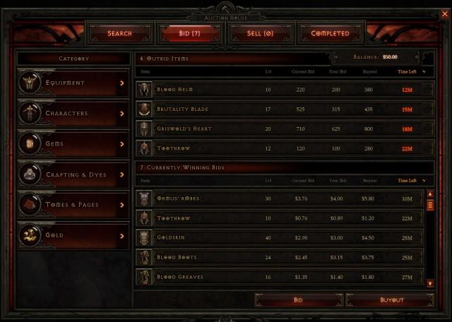 Diablo III - Auction House