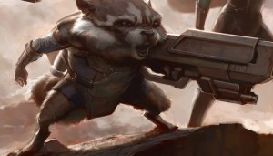 Rocket Raccoon - Concept Art