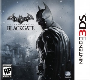 Batman- Arkham Origins - Blackgate - 3DS Box Art