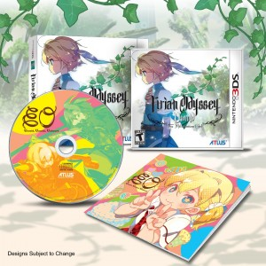 Etrian Odyssey Untold- The Millennium Girl - Limited Edition