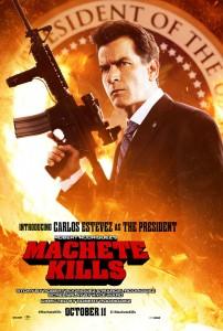 Machete Kills - Charlie Sheen Poster