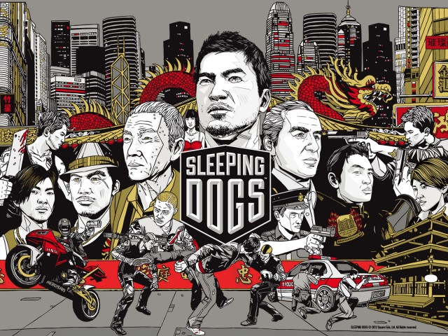 Sleeping Dogs - Promo Art