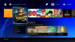 PS4 Dynamic Menu