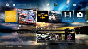 PlayStation 4 - Menu Interface