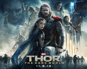 Thor- The Dark World - Poster