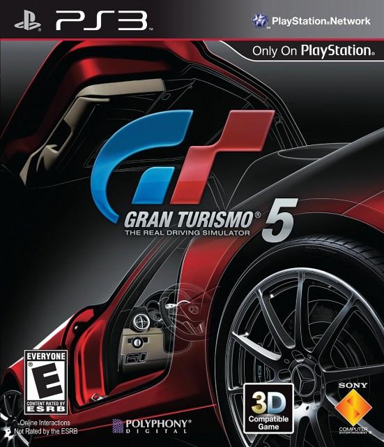 Gran Turismo 5 - Box Art
