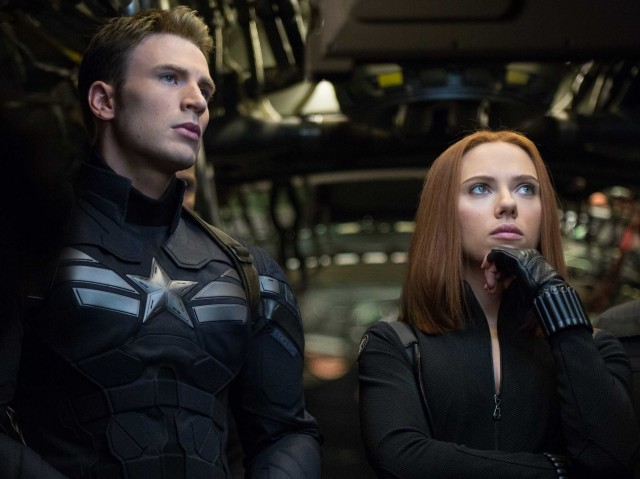 Captain America- The Winter Soldier - Footage 1