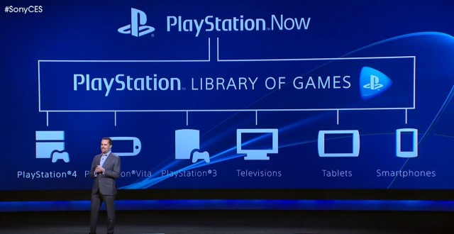 PlayStation Now - CES