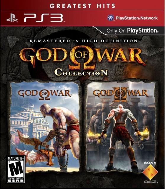 God of War Collection - PS3 Box Art
