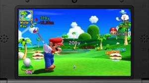 Mario Golf- World Tour - Gameplay