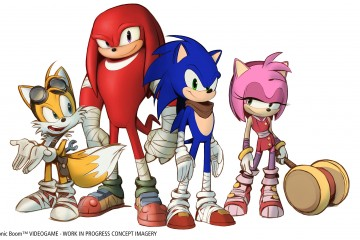 Sonic Boom - Concept Art