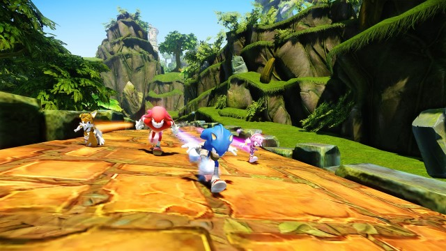Sonic Boom Wii U - Gameplay